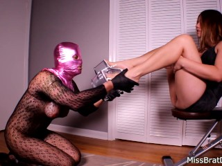 Sissy Please Femdom - Foot Domination