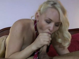 Hot amateur mouth jizzed
