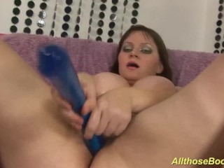 bbw Milf with oiled monster juggs
