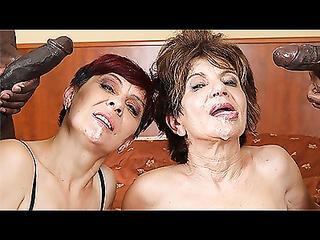 Mature BBC-loving women are having wild group sex