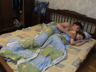 Young amateur couple home fucking video