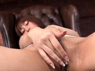 Tiara Ayase uses toy on pussy befor - More at Slurpjp.com