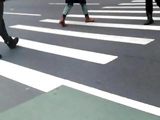 Huge Booty Black Jeans moving