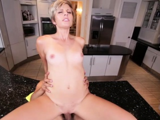 Petite Mickey Reise hardcore fuck with dudes big cock