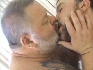 Big tattoed Daddy Bear