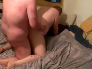 chubby fucked hard by a bear