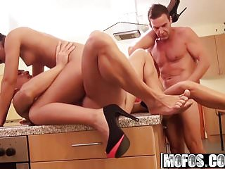 Kitana Lure and Vivien Bell - Euro Amateurs in Epic Foursome