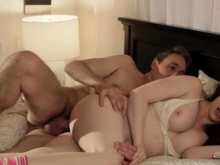 Chanel craving for her stepdads big cock