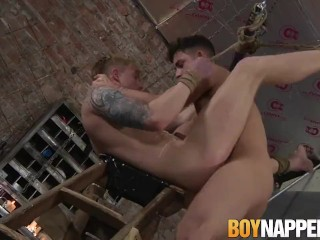 Inked Tyler Underwood is tortured and fucked by Jack Taylor