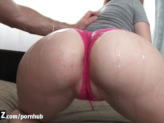 WANKZ - Hot Blonde Gets Her Big Booty Fucked!