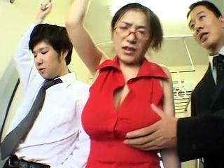 Big boobs Milf without a bra on train - Pt2 On HDMilfCam.com
