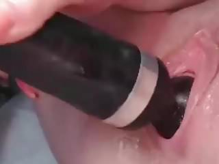 Masturbating Beautiful Shaved Young Pussy