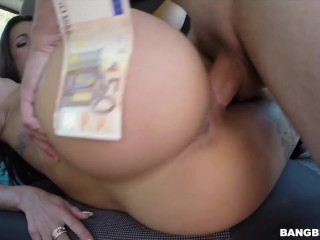 Susy Gala getting boned on the Bangbus