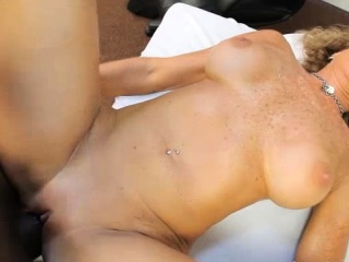 Dr.Jade Jamison gets herself huge black cock!