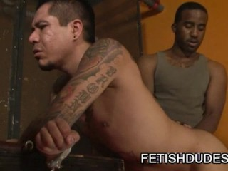 Max Sanchez and Dirty Dee: Spanking A Tattooed Latino Ass