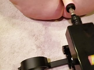 Elena's anal fuck machine