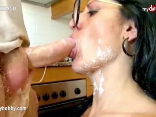 Mydirtyhobby - Food fetish and hardcore fuck