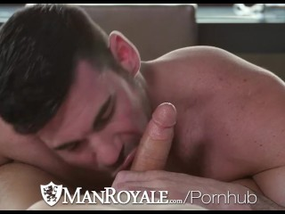 ManRoyale Kyle Kash fucks Billy Santoro tight brown eye