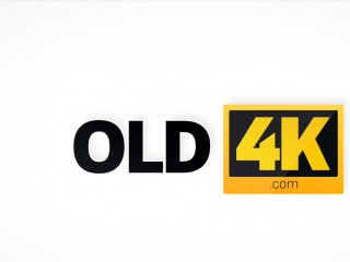 OLD4K. Old wise gentleman with a young beautiful girl