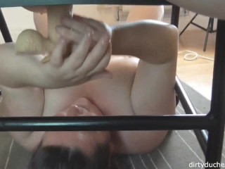 Dirtyduchess Squirts all over 24 year old Superslut emmas face