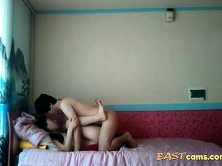 New korean couple video