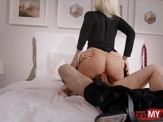 Big tits pornstar hardcore anal and facial