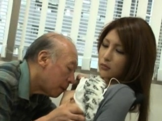 Breasty sweetheart getting sexualy disciplined in the office