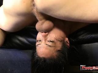Hot pornstar deepthroat with facial cum