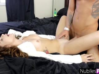 NubilesPorn - Horny Teen Needs A Cock To Cum