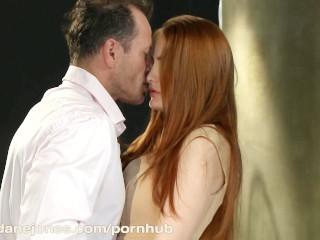DaneJones HD Horny redhead in very passionate scene