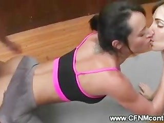 Backside fucking for milfs during yoga lesson