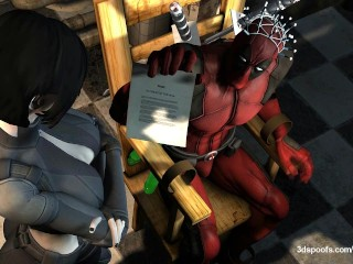 Deadpool and Domino - The sexual hunt is on!