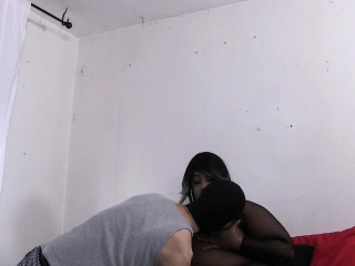 Trina Starz tit worship and smother