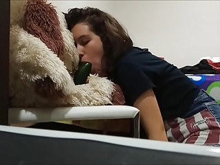 18 Years Old Teen Blowjob Training