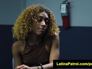 LatinaPatrol Kendall Woods sexual deal for freedom
