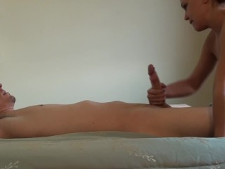 Laying Down Getting Some Good Head & 69ing With Ashley, Homemade HD Blowjob