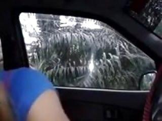 no carro