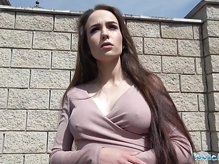 Public Agent Hot Russian fucked in a garage by a stranger