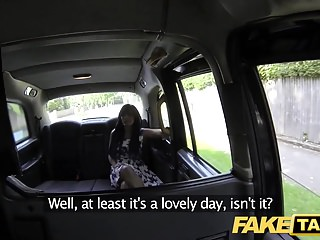 Fake Taxi massage ends in huge facial after fuck session