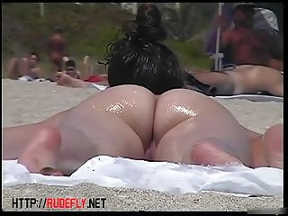 This amazing nude beach amateur voyeur footage contains ever