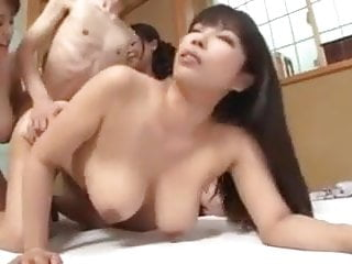 3 Chubby Asians 1 Guy Creampie (censored)
