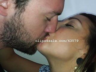 Dave and Samantha Kissing Video 5