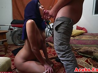 Exotic muslim amateur cocksucks on camera