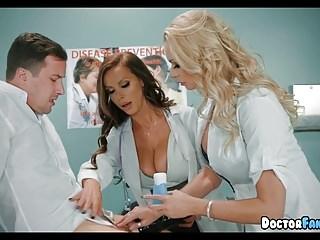 Horny MILF Nurses at the Hospital