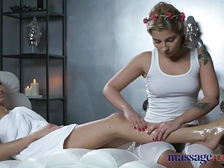 Massage Rooms Sensual intense orgasms for hot natural tits