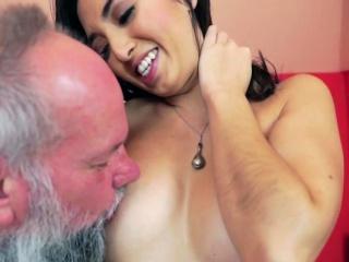 Hot latina nailed by perv