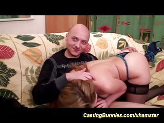 french deepthroat and anal fist casting