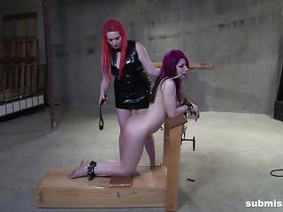 Cheri Rose is in deep pain from mistress Irony's domination