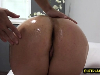 Hot pornstar casting and cumshot