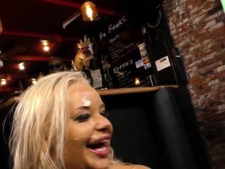 Huge tit blonde bukkaked
